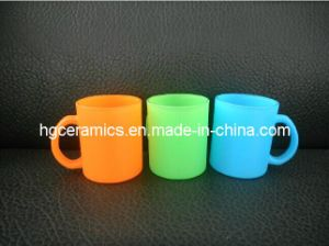 Fluorescent Glass Mug pictures & photos