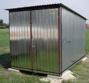Galvanized Small Steel Shed (LTT-118) pictures & photos