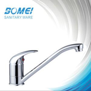 Single Handle Brass Body Ceramic Cartridge Kitchen Sink Faucet (BM50505) pictures & photos