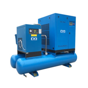 7.5kw 11kw 15kw Electric Rotary Screw Type Air Compressor with Air Dryer pictures & photos