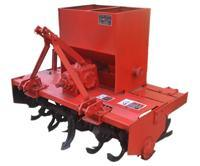 Rotary Tillage Ridging Fertilizer Applicator