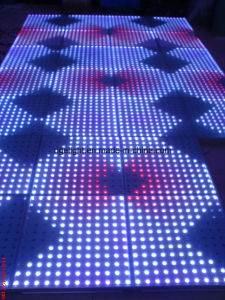 Interactive 12*12 Pixels LED Dance Floors for Stage Wedding Light pictures & photos
