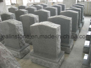 Traditional Single American Upright Headstones