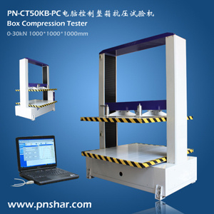 Corrugated Carton Box Compression Tester (PN-CT50KB) pictures & photos