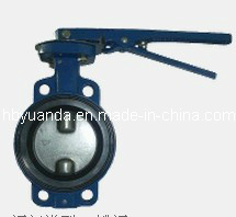 Wafer Type Soft Seal Butterfly Valve pictures & photos