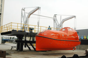 Solas Marine Life Saving Equipment 25persons Totally Enclosed F. R. P Lifeboat Tempsc pictures & photos