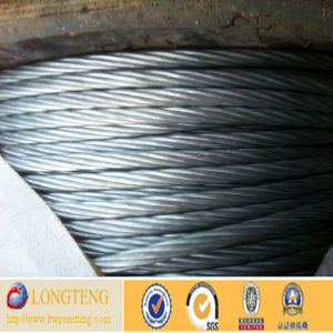 1*7 Hot Dipped Galvanized Steel Wire Rope 10mm (LT-031)