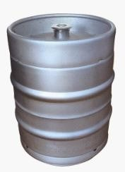 Stainless Steel Empty Beer Keg 15.5 Gallon Home Brew BBQ Good Condition