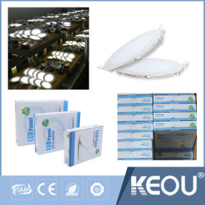 High Brightness SMD2835 Epistar LED Panel Light 12W 18W 24W pictures & photos