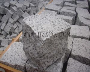 Natural Split Grey Granite G603 Paving Stone Cobblestone Cubestone pictures & photos