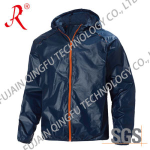 Windproof and Waterproof Wind Jacket (QF-6100) pictures & photos
