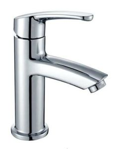 Sanitary Ware Chrome Plated Bathroom Brass Basin Faucet (2005) pictures & photos