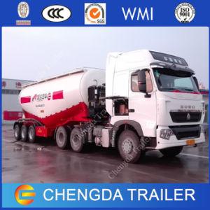 3axles 80ton Cargo Vehicle Cement Bulker Tanker Trailer for Sale pictures & photos