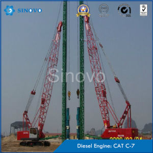 Original CAT Base TH-60 Hydraulic Piling Rig for Concrete Piles pictures & photos