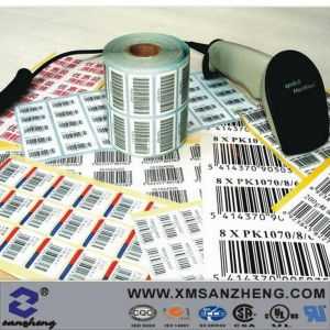 Thermal Transfer Sequentially Numbered Variable Information Qr Code Barcode Stickers pictures & photos