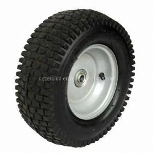 10X2 Inch Semi Pneumatic Rear Wheel for Walk Behind Mowers pictures & photos