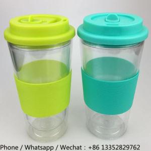 400ml Transparent Plastic Auto Drinking Water Mug pictures & photos