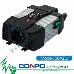 6042u 400W Pure Sine Wave Inverter+USB pictures & photos