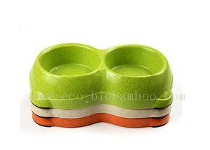 Bamboo Fiber Pet Bowl (BC-PE6007) pictures & photos