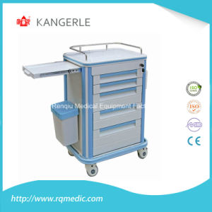 ABS Crash Cart/Emergency Trolley/Hospital Cart pictures & photos