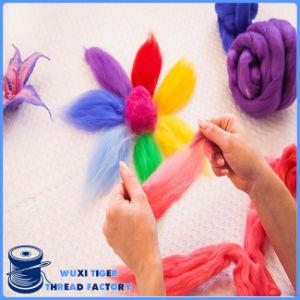 Custom Wholesale 100% Knitting Cotton Wool Yarn Fabric