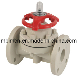 Flange Type PPH Diaphragm Valve (G41F-10) pictures & photos