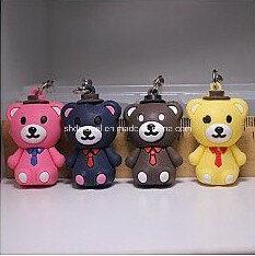 Plastic Bear Keychain Cartoon Figures (3 cm) pictures & photos