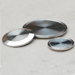 Stainless Steel Sanitation Ss304 Solid End Cap pictures & photos
