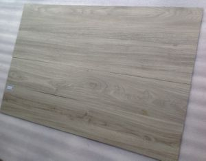 Lighter Grey Color PVC Plastic Plank