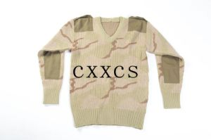 Army Camouflage Sweater Desert Camouflage pictures & photos