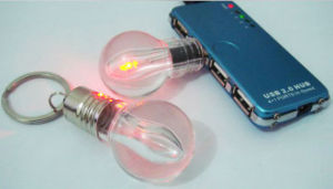 Crystal Bulb USB Flash Drive 4GB 8GB 16GB 32GB pictures & photos