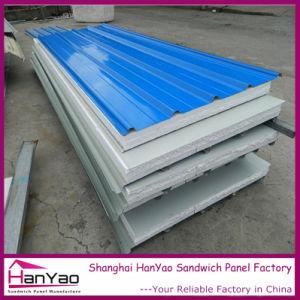 Steel Corrugated Roof Tile EPS Sandwich Panel pictures & photos