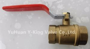 Brass Copper Ball Valve with Yellow Color (YD-1007) pictures & photos
