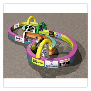 New Design Inflatable Circuit for Car Race and Zorb Useage pictures & photos