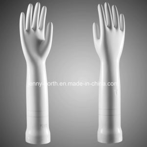 Glaze Pitted Curved Medical Porcelain Gloves Former pictures & photos