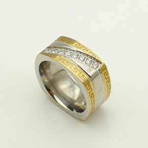 316L Stainless Steel Jewelry Ring (6082) pictures & photos