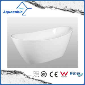 Bathroom Pure Acrylic Seamless Freestanding Bath Tub (AB6506) pictures & photos