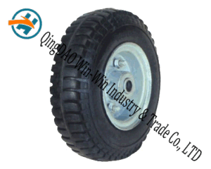 Rivert Pneumatic Rubber Wheel for Trolley pictures & photos