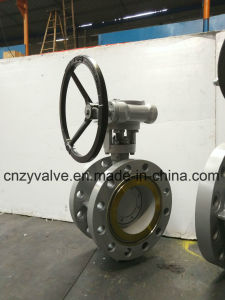 Pn40 Pn63 High Pressure Butterfly Valve pictures & photos
