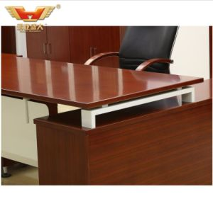 Modern Wooden Venner Office Furniture Office Manager Table pictures & photos