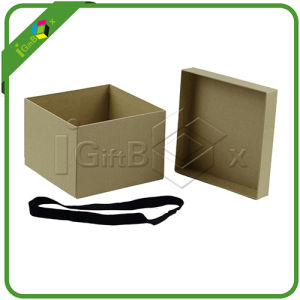 Recyeled Large Gift Box with Lid pictures & photos
