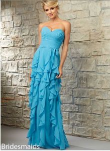 2015 Layer Chiffon Wedding Bridesmaid Dresses Bd718 pictures & photos