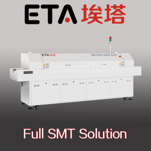 8 Heating Zone Economical Reflow Oven, SMT Solder Paste Reflow Oven pictures & photos