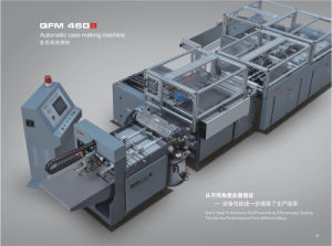 Paper Cover Making Machine Qfm-600b pictures & photos