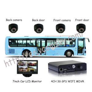 School Bus Mobile DVR with Mini Portable SD Card GPS WiFi Security pictures & photos