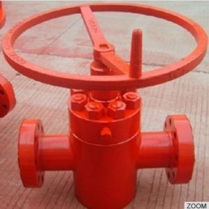API 6A High Pressure Rising-Stem Manual Gate Valve pictures & photos