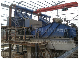 Dewatering Screen for Tailings Dry Discharge, Mine Tailings Water-Cycling System pictures & photos