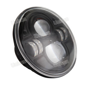 """7"""" 45W Auto LED12V H4 Headlight with Sealed Beam pictures & photos"""