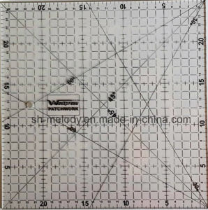 Acrylic Patchwork Ruler/Quilting Rulers/Quilting Tools/Sewing Tools pictures & photos