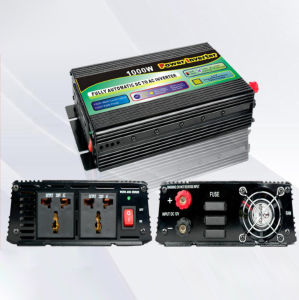 Power Inverter 1000W DC to AC Modified Sine Wave with UPS Charger pictures & photos